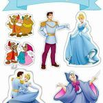 Topo de Bolo de Papel para Imprimir Cinderela Princess Party, Disney Princess, Cinderella Birthday, Princesas Disney, Scrapbooks, Party Themes, Activities For Kids, Disney Characters, Fictional Characters