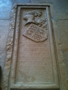 Grave of a Templar warrior in Portugal