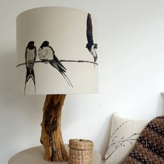 Are you interested in our Printed swallow lampshade? With our Beautiful Bird lampshade you need look no further. Ceiling Shades, Lamp Shades, Light Shades, Large Table Lamps, Light Table, White Lamp Shade, Standard Lamps, Nature Table, Hanging Pendants
