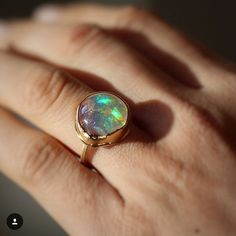 Loving this #fireopal ring @voiagejewelry #jamiejosephjewelry #couturedailydose #jjpowerring
