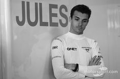 Jules Bianchi, Marussia Team at Australian GP High-Res Professional Motorsports Photography Marussia F1, Watch F1, F1 Drivers, Karting, Keep Fighting, Formula One, Chef Jackets, F1 Season, Guys