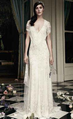 25 Dazzling Art Deco Wedding Gowns: Jenny Packham  Azalea Gown  $6,800