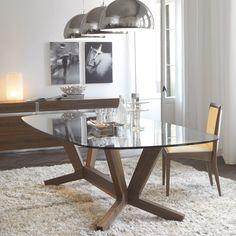 Chłodny typ #glass #table #internoitaliano #cattelanitalia #modern #style #diningroom