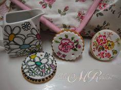 MIS RECETAS MÁS DULCES- cursos de galletas decoradas y más: GALLETAS PINTADAS INSPIRADAS EN COSAS COTIDIANAS