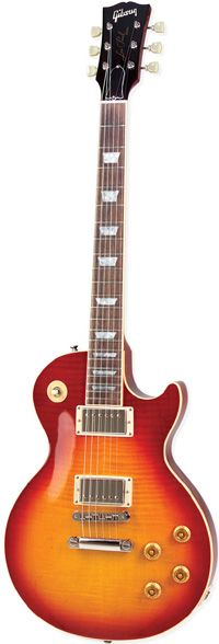 """1952: Gibson Les Paul - Result of design collaboration between Gibson Guitar Corporation and Les Paul. 1950 saw electric guitars becoming public craze after introduction of Fender Telecaster. Gibson Guitar president brought Les Paul to company as consultant, who was a respected innovator. He took his ideas to Gibson after experimenting with """"log"""" guitar. Gibson originally declined design but then went back and signed him and his design. 50-60 prototypes were tried before design was decided…"""