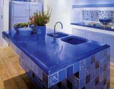Exceptionnel Kitchen With Lava Stone Countertops