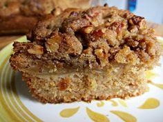 Apple Mahleb Spelt Coffee Cake