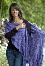 Lavender Reverie Wrap | Free Crochet Pattern