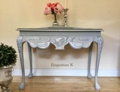 Emporium K Milk Paint from Shabby. Furniture Redo, Vintage Furniture, Milk Paint, Entryway Tables, Shabby, Antiques, Photos, Painting, Home Decor