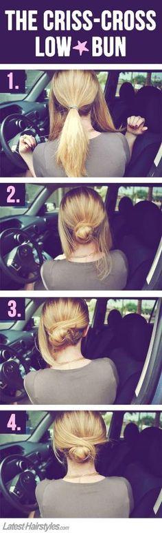 Easy bun by Kimara
