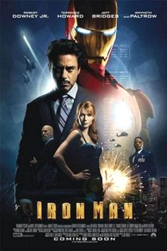Iron Man movie poster (2007)