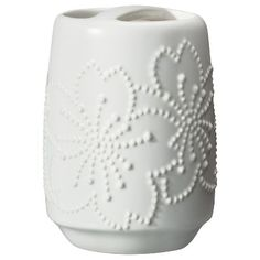 Target : Target Home™ Ceramic Toothbrush Holder - White : Image Zoom