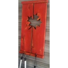 Home :: Décor :: Outdoor :: Rustic Shutter holds BBQ utensils/ keys Rustic Shutters, Distressed Painting, Little Red, Decoration, Utensils, Garden Tools, Hold On, Bbq, Indoor
