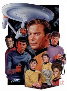 Star Trek TOS Fan Art - star-trek-the-original-series Fan Art Star Trek Original Series, Star Trek Series, Star Trek Tv, Star Wars, Star Trek Posters, Star Trek Images, Star Trek Characters, Video Clips, Birthday Star