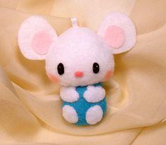 Mouse Plush Feltie