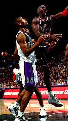 Ray Allen & Michael Jordan are two of my top 5 favorite basketball players.
