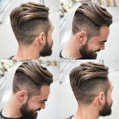 Haircut by ambarberia http://ift.tt/1KI5Ct9 #menshair #menshairstyles #menshaircuts #hairstylesformen #coolhaircuts #coolhairstyles #haircuts #hairstyles #barbers