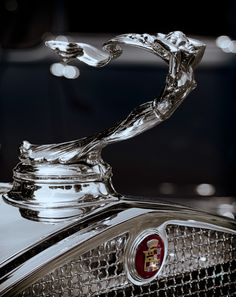 1930 Cadillac Hood Ornament...Re-pin brought to you by agents of #Carinsurance at #HouseofInsurance in Eugene, Oregon.