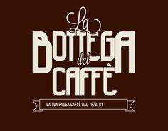 """Consultate il mio progetto @Behance: """"Logo & Brand Identity eCommerce Caffè""""…"""