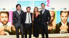 Horrible Bosses 2 premiere in London Horrible Bosses, Boss 2, Chris Pine, Jennifer Aniston, Celebrity News, Cinema, Selfie, Lifestyle, Celebrities