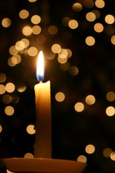 Start a New Year's tradition lighting candles for your loved ones & for your dreams, and have the courage to believe...then accept peace in your heart as a gift of grace, because it is...