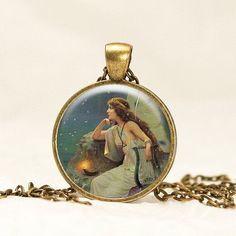 Night Angel pendent necklace