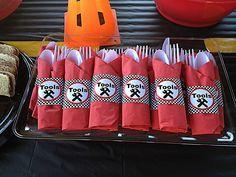 Tools ;)  #carparty #DIY #birthday #party