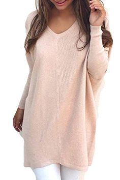 fb81f778ffcb KAKALOT Women s Fashion Owl Print Oversize Knitted Pullover Sweater Jumper   Size S M L XLbr br br br br br Note Pls allow differs.