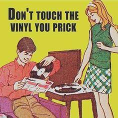 #vinyl thinking of you @missvikkiv