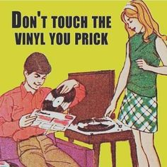 #vinyl thinking of you @missvikkiv