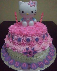 hello kitty bithday cake dessert table  checkour IG : TIWI_IBUNYAFALIH contact: wa/line 08572057175