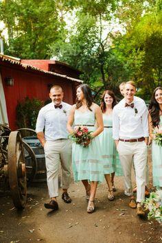 Idea for bridesmaid dresses