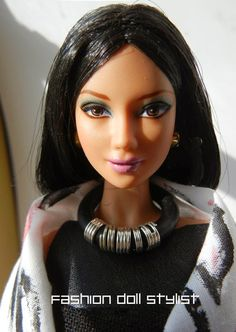 Jewelry from the Hardware Store: Fashion Doll Stylist Hardware Jewelry, Ace Hardware, Barbie Doll Accessories, Sophisticated Outfits, Azzedine Alaia, Black Barbie, Monster High Dolls, Collector Dolls, Jewelry Findings