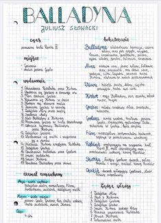 High School Life, Life Hacks For School, School Study Tips, Back To School, School Organization Notes, School Notes, School Motivation, Study Motivation, Polish Language