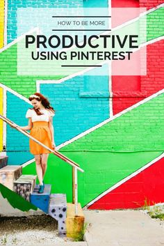 How to use Pinterest to be more productive!