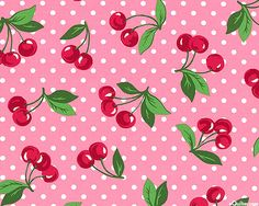 Cherry Dot - Berry Fruity - Rose Pink