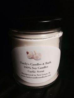 10 oz Garlic Scented Candle | eBay