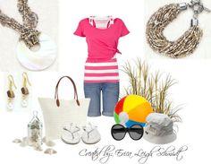 """Luminous"" necklace and bracelet. ""Daydream"" earrings (Premier Designs)"