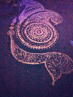Rangoli at a Wedding, via Francine Francine Coursey · Desi Wedding, Wedding Pics, Wedding Bells, Indian Wedding Decorations, Indian Weddings, South Asian Wedding, Wedding Preparation, All Things Purple, Rangoli Designs