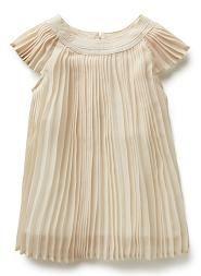 Seed Heritage Baby - Baby Girl Pleated Dress #vintagebaby