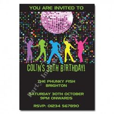 Get your groove on at a funky disco party!