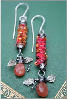 Wildwood Earrings by Deryn Mentock