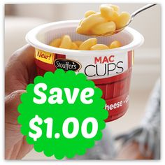New Stouffer's Mac & Cheese Cups Printable Coupon, http://www.savingeveryday.net/?p=105959