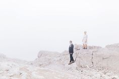 Mountain elopement on the Zugspitze in the Alps <3  .  Photo by www.marialuisebauer.com ... mountain wedding - zugspitze hochzeit - wedding in the alps - wedding photographer austria