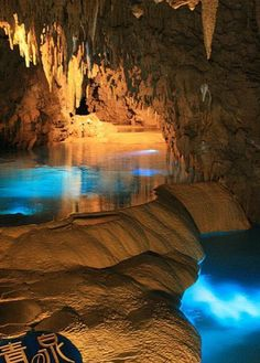 Mystic pools in Gyokusendo Cave, Okinawa, Japan , from Iryna