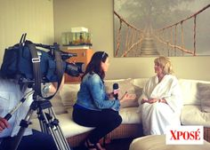 Sneak peak of TV3's #Xpose @rainforestspas launching Rainforest Cancer Care. Our client sharing her 16-year battle with #cancer.