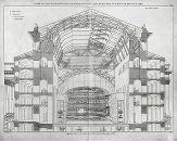 Iron and cast iron frame, Alexandria Theatre, St. Crystal Palace, World's Fair, Civil Engineering, Train Station, Alexandria, Civilization, 18th Century, Cast Iron, Taj Mahal