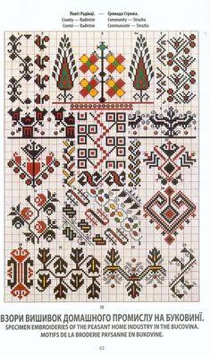 Cross Stitch Borders, Cross Stitch Charts, Cross Stitch Patterns, Folk Embroidery, Cross Stitch Embroidery, Embroidery Patterns, Seed Bead Patterns, Beading Patterns, Palestinian Embroidery