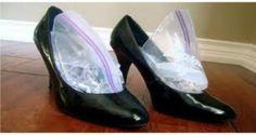 Une astuce de génie pour élargir et assouplir vos chaussures étroites (cuir