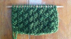 How to Knit the Box Stitch.  Similar to seed stitch, but a 2 x 2 pattern.